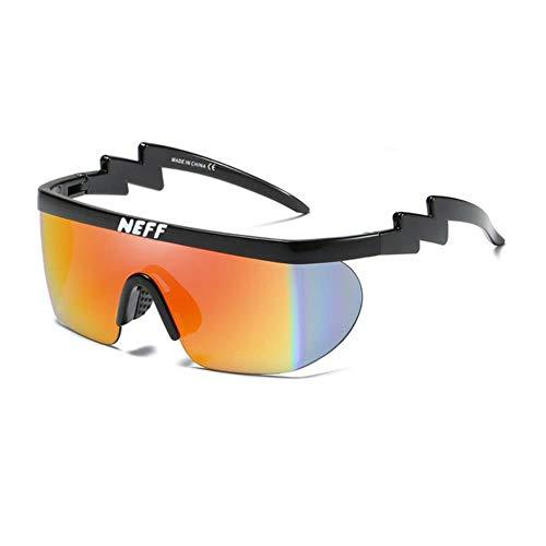 CRAVEN Neff Sonnenbrille Männer Frauen Vintage Sport Übergroße Brille Clip On Shades UV40 Schutz Sonnenbrille Lentes De Sol Mujer, C3, mit Etui
