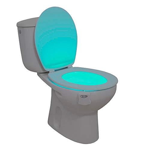 Ideal Products - luz inodoro adaptable cualquier modelo
