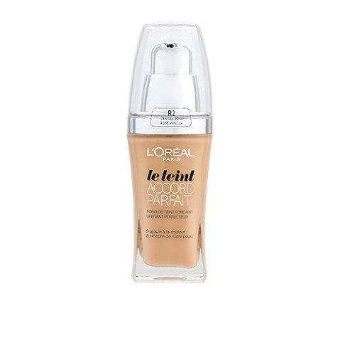 L'Oréal Paris Accord Parfait Fond de Teint Fluide Unifiant Vanille Rosé 2.R 30 ml