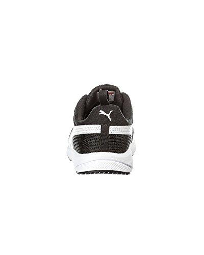 Puma Carson Runner, Baskets mode mixte enfant Noir/blanc