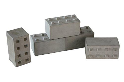 HELI-Taschen Betonblöcke Betonsteine Leitplanke Modellbau 1:14 (Set 1)
