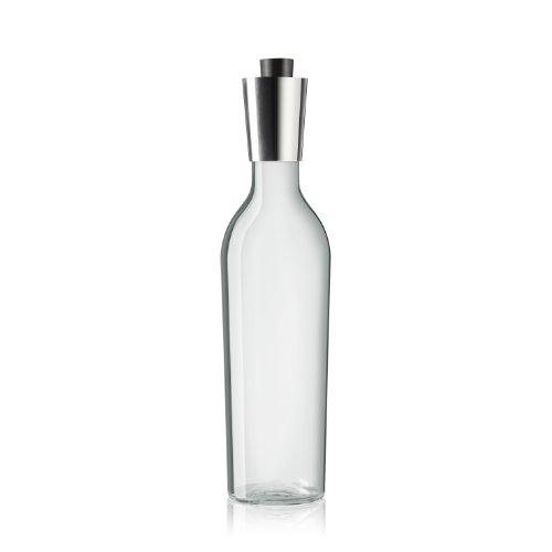Eva Solo 5706631038980 Weinkaraffe/Bag-in-Box Karaffe, tropffrei 0,75 L, Glas, transparent, 7 x 7 x...