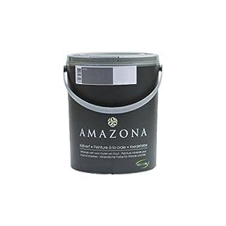 Amazona by Wohnliebhaber Kreidefarbe Skin 0,75 ltr. Ökologisch Shabby Chic Vintage Landhausstil DIY Holz Metall Kunststoff Wand Stein für alle Untergründe Wandfarbe Farbe