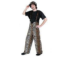 PARTY DISCOUNT NEU Kostüm-Hose Leopard, unisex Gr. XL