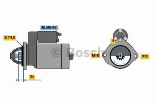Bosch 1115045 Anlasser