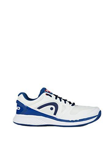 Head Herren Tennis Schuh Tennischuh SPRINT LDT. CLAY weiß / blau, Größe:44
