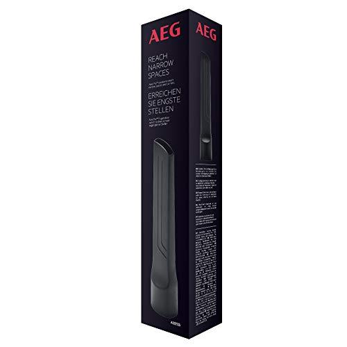 AEG AZE133 Fugendüse (27cm lang, Staubsauger Aufsatz für schwer erreichbare Stellen, Fugen und Ritzen, für Haushalt und Auto, universell, passend für AEG Sauger mit 36mm Ovalrohr) schwarz