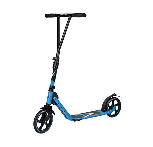 HUDORA Kinder & Jugendliche BigWheel Generation V 205 Scooter Roller Big Wheel, hellblau