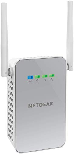 Foto Netgear PLW1000-100PES Adattatori Powerline AV1000, Wireless AC Dual Band, 2...