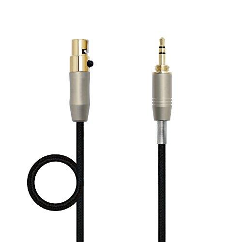 gotor® Sostituzione audio aggiornamento via cavo per cuffia AKG K702 Q701 K271s 240s cuffie (1,2m)