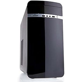 iTek Otto Midi Tower Matx Case per PC, Nero
