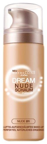 Maybelline - Jade Dream Nude - Fond de teint mousse - 021 Nude - 16 g