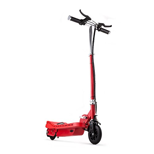 elektro dreirad erwachsene TAKIRA racing V6 • E-Scooter Elektroroller • 16 km/h Höchstgeschwindigkeit •120 Watt Elektro-Motor • bis zu 16 km Reichweite • rot