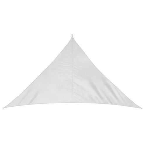Jarolift Tenda a Vela Triangolare Traspirante, 700 x 500 x 500 cm, Bianco Crema