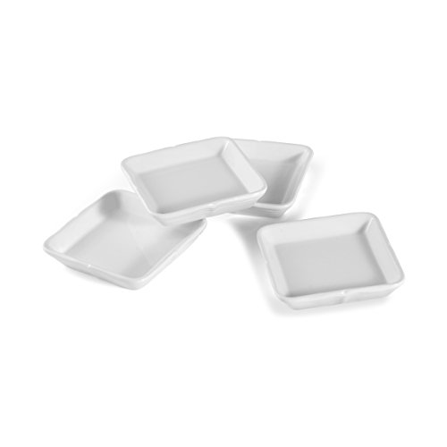 Mikasa French Countryside Square Dipping Plates, Set Of 4 Mikasa-square Plate
