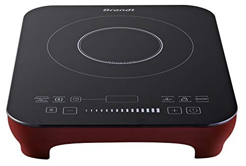 Brandt - Table induction posable 1 foyer Rouge