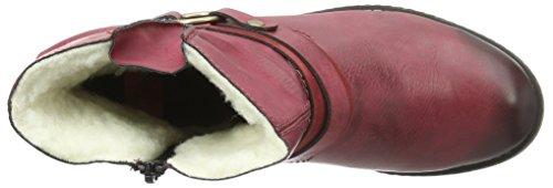 Rieker Y6762, Bottes Classiques Femme Rouge (Wine/Wine/35)
