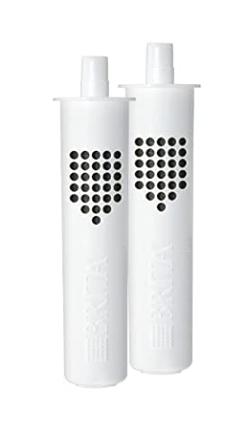 Brita bottle water filtration system, replacement filters - 2 ea