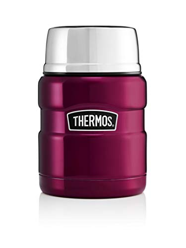 Picture of Thermos Stainless King Food Flask, Raspberry, 470 ml
