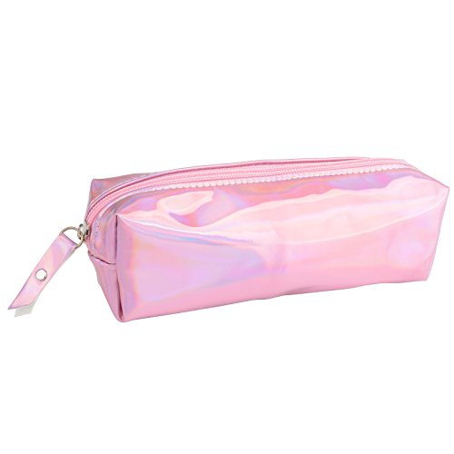 Pencil Case Cosmetic Bag (Pink)