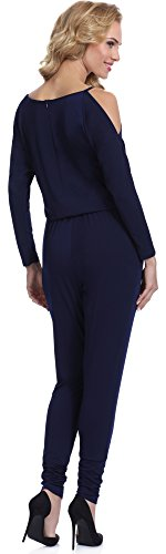 Bellivalini Damen Jumpsuit Bondi Navy (3057)