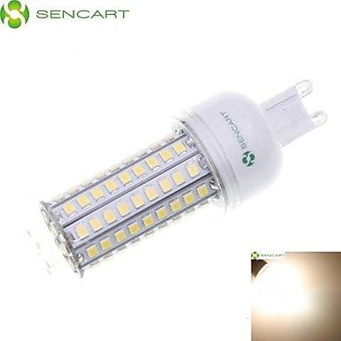 8W E14 / G9 / GU10 / E26 / E26/E27 / B22 Bombillas LED de Mazorca Luces Empotradas 102 SMD 2835 900-1200 lm Blanco Cálido / Blanco Fresco ( Conector : E14 , Color de Luz : Blanco Frío-220v