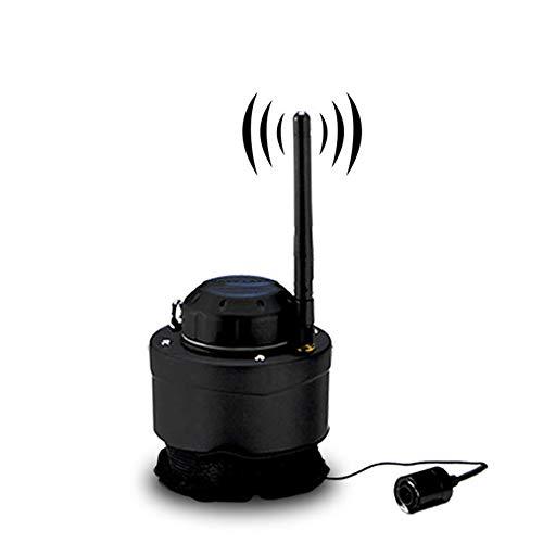 QLPP Fish Finder, Wireless Sonar Sensor mit Fotos, die Videoaufzeichnung Screenshots Power-Bank Campatible mit Android IOS-System kann auf Fischerboot verwendet Werden