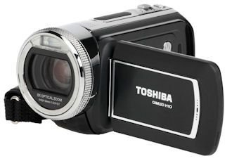 Toshiba camileo h10 videocamera 10.48 megapixel