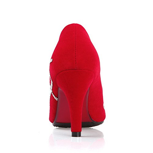 1TO9 , Sandales pour femme Rouge