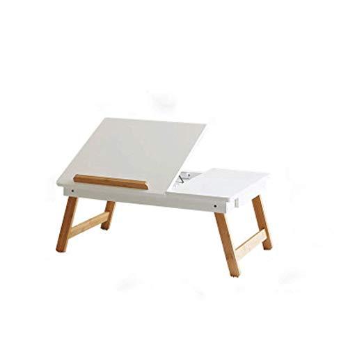 Tavolino Da Letto.Xajgw Tavolino Da Letto Per Laptop Scrivania Da Terra Portatile Vassoio Da Colazione Pieghevole Per Divano Supporto Da Lettura Per Porta Notebook