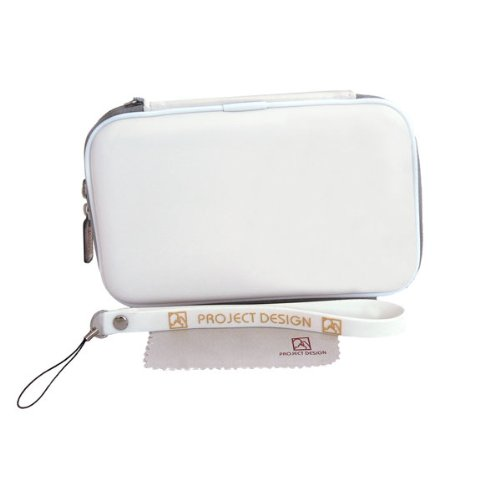 Nintendo Xl 3ds Protector Skin (Nintendo Tasche für 3DS XL, New Nintendo 3DS, New Nintendo 2DS XL - Hardcover / Case / Schutzhülle in weiß)