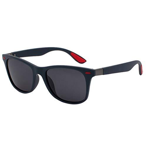 Lazzboy Polarisierte Sonnenbrille Für Frauen Mann Verspiegelte Linse Mode Brille Brillen Herren & Damen Sonnenbrillen Original Unisex - Farben, Verspiegelt(A)
