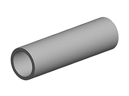 K&S-Metall 969825 Messingrohr, 300mm lang, Wand 0,45mm Durchm. 7mm 2 Stück (7 Metall-wand)