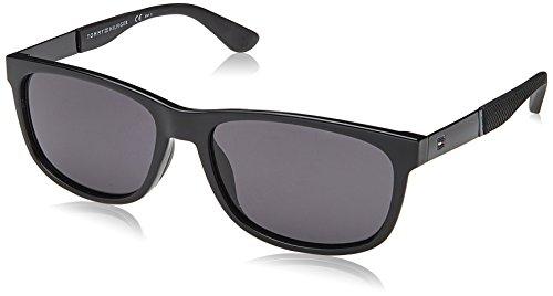 Tommy Hilfiger Herren Sonnenbrille TH 1520/S IR 807, Schwarz (Black/Grey), 57 Preisvergleich