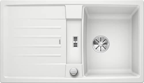 Blanco 524904 Lexa 45 S Küchenspüle, weiß, 45 cm Unterschrank
