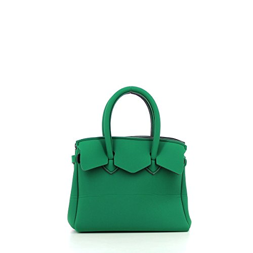 save my bag Petite Miss, Borsa a Mano Donna, 26x23x13 cm (W x H x L) Green