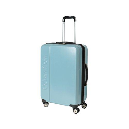 Calvin Klein Valigie Trolley 24'' 4 Wheels, 65 Litri, Summer Sky
