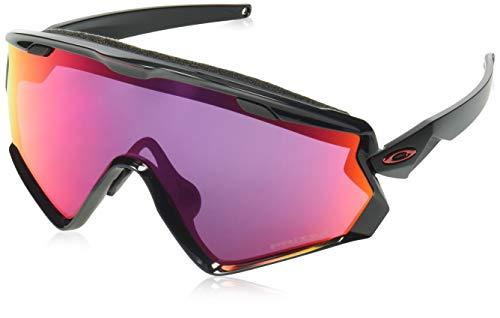 Oakley Herren Wind Jacket 2.0 OO9418 Sonnenbrille, Schwarz (Negro/Brillo), 0