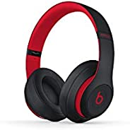 Beats MRQ82 Beats Studio3 Wireless Headphones - Decade Collection, Defiant Black-Red - BLACK RED (Pack of1)
