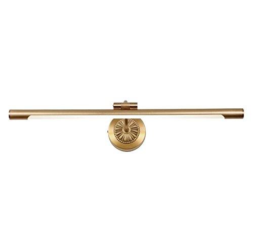 LED Europäischen Stil Spiegel Lampe Kupfer Badezimmer Scheinwerfer Spiegel Schrank Wandleuchte Retro Badezimmer Wandhalterung Lampe (ohne Glühbirnen)