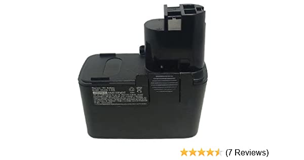 Replacement Battery For Bosch 3300K 3305K 3310K 3315K 3500 B2300 12V 1500mAh UK