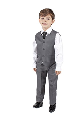 Boys-Grey-4-Piece-Waistcoat-Suit