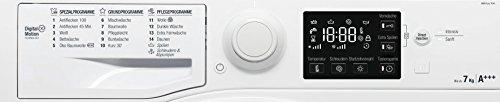 Bauknecht WM Pure 7G41 Waschmaschine Frontlader / A+++ -10% / 1400 UpM / 7 kg / Weiß / langlebiger Motor / Nachlegefunktion / Wasserschutz - 4