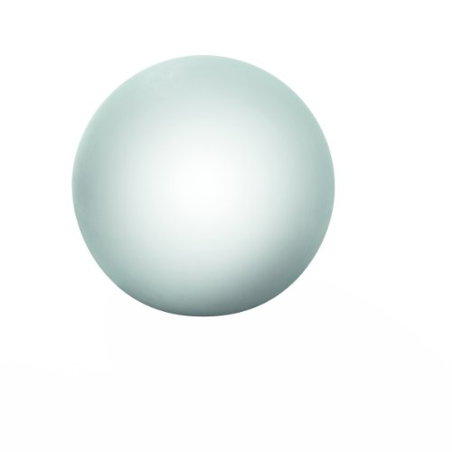 greemotion LED Leuchtball 173009, Leuchtkörper für den Innen- und Außenbereich, Außenleuchte mit Farb- und Helligkeitsregulierung, Kugelleuchte mit Memory-Funktion, Gartendekoration aus hochwertigem Kunststoff, Lichtquelle mit 7 verschiedenen Farbmöglichkeiten, ca. Ø 50 cm große Gartenkugel
