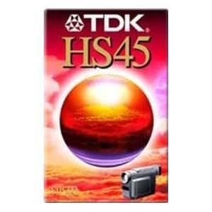 Tdk - Cassette VHS-C 30 Minutes Vierge Pour Caméscope