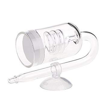 Sellify 1pc Aquarium CO2 Diffuseur clapet anti-retour U Forme tube en verre Ventouse