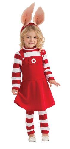 Rubies 211830 Olivia Kleinkind - Kinder Kost-m - Rot - Kleinkind - 2-4T (Olivia Kostüm Kleinkind)