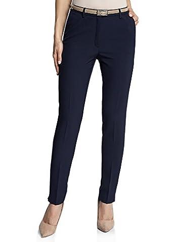 Pantalon Femme 34 - oodji Ultra Femme Pantalon Slim Fit avec