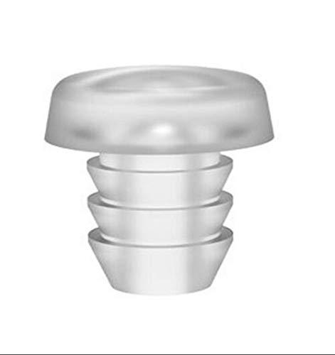 Glasplatte Tischschutz mit Stiel, Glasoberfläche, Gummi-Greifer, klar, Glas-Tischplatte Abstandhalter für Terrassen-Tische. Weiche Dampfstangen für Glas-Tischplatte. Geeignet für 0,9cm Loch, 15Stück.
