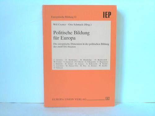 Politische Bildung für Europa